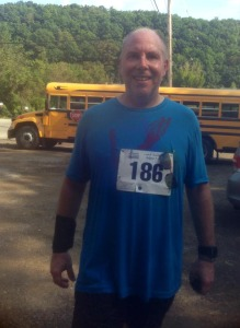 Tom at Montour Trail Half Marathon